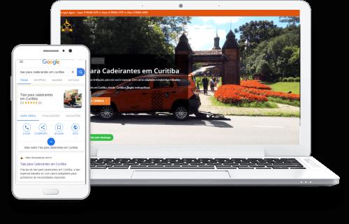 Agencia Domínio Digital-Case Táxi Especial